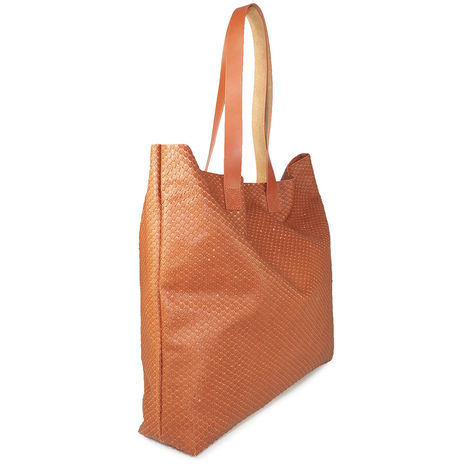 ITALIAN GRAINED LEATHER TOTE BAG FIRENZE 37