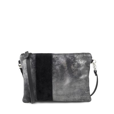 GRAPHITE GLASGOW 28 PURSE with leather band