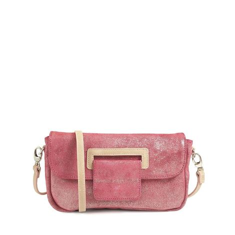 CANNES 29 RASPBERRY CLUTCH BAG