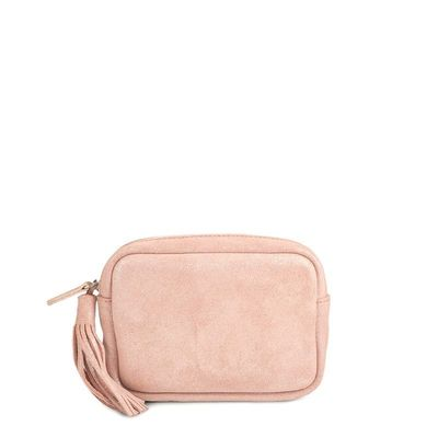 LIGHT PINK BELT LEATHER CASE CANNES 27
