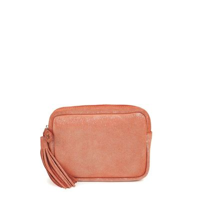 BRICK LEATHER BELT CASE CANNES 27
