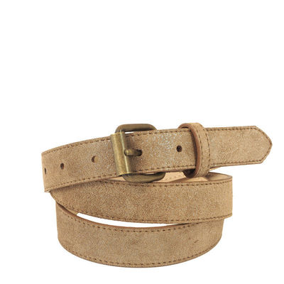 CEINTURE CANNES 25 TAUPE- T90