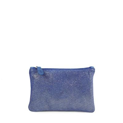 LEATHER CASE CANNES 38 ELECTRIC BLUE