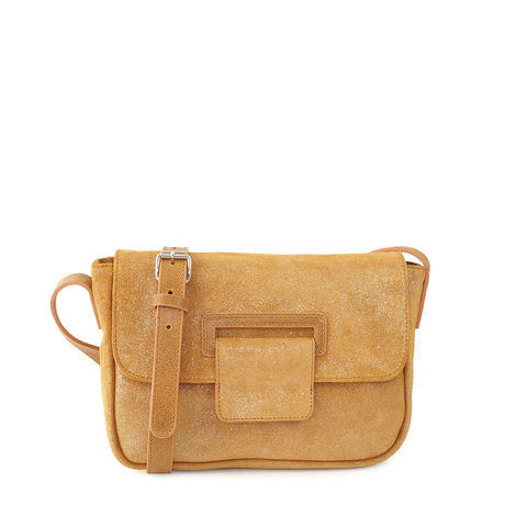 CANNES 54 GOLD CROSSBODY BAG- size S