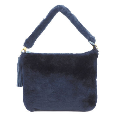 BLUE CLUTCH BAG LIPEZ 55