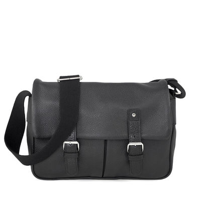 BLACK SATCHEL BAG OUESSANT 52