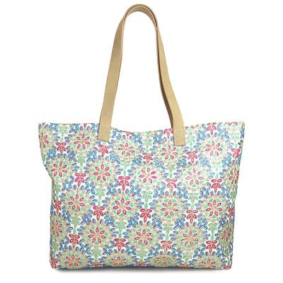 KASHGAR 37 EMBRODERIES TOTE BAG
