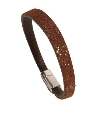 BURGUNDY LEATHER BRACELET