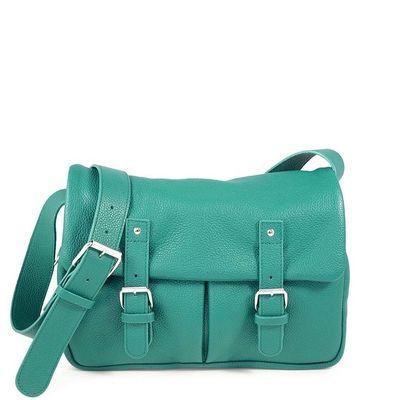 BONN 02 GREEN SATCHEL BAG BAG