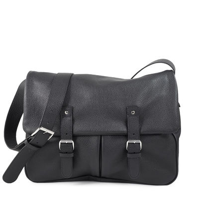 BLACK MESSENGER BAG BONN 13