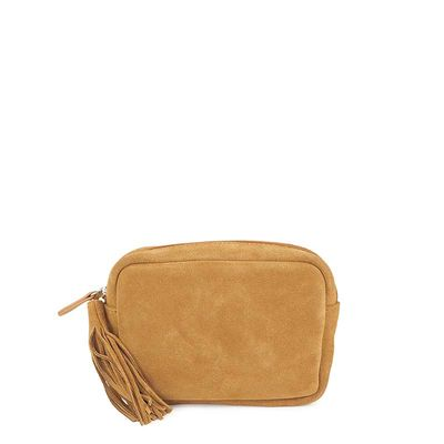 CAMEL LEATHER BELT CASE CARNABY 27