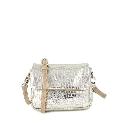 MINI BAG CROCO PRINT LEATHER  TOSCANE 08