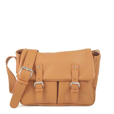 BONN 02 CAMEL SATCHEL BAG