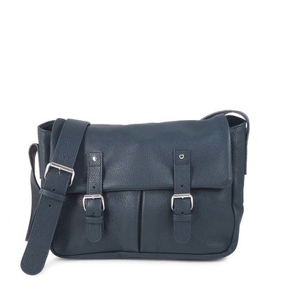BONN 02 NAVY SATCHEL BAG