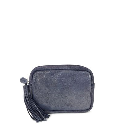 CANNES 27 DARK BLUE LEATHER CASE