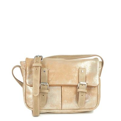 Beige and gold GLASGOW 11 BAG