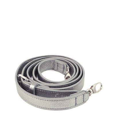 Shoulder strap in grained leather OUESSANT
