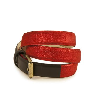 RED VINCENNES 25 BELT