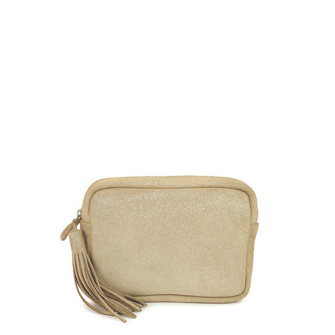 CANNES 27 BEIGE LEATHER CASE