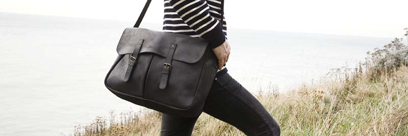 men messenger leather bag