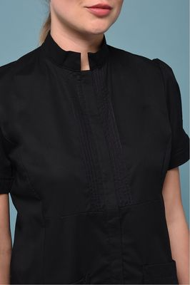 Black Allure Tunic