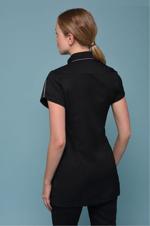 Black Vertigo Tunic
