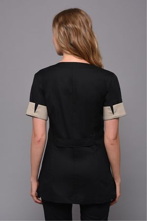 Black Zoom  Tunic
