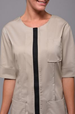 Taupe Zoom Tunic
