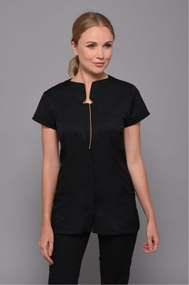 Black Graphic Tunic
