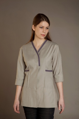 Taupe Ellipse Tunic