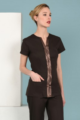 Chocolate Butterfly Tunic