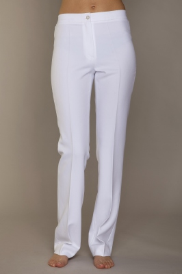 Pantalon Cigarette en Innov-Tex coloris Blanc