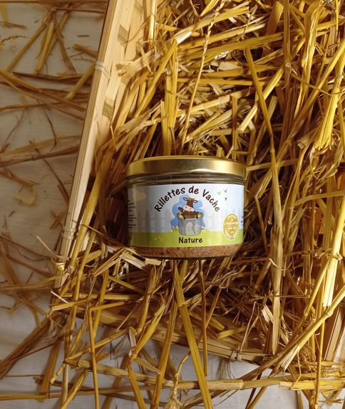 RILLETTES VACHE NATURE 180G