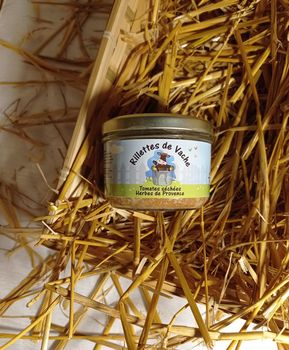 RILLETTES VACHE TOMATES SECHEES/HERBES PROVENCE 180G
