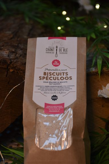 PREPA. POUR BISCUITS SPECULOOS 350G