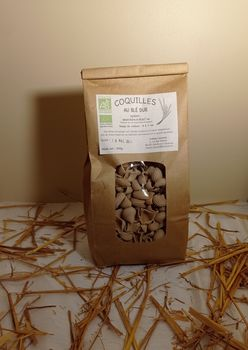 PATES COQUILLES BLE T65 500 G