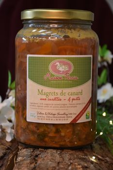 MAGRETS AUX CAROTTES 4 PERS