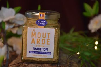MOUTARDE ORLEANS TRADITION 200 G