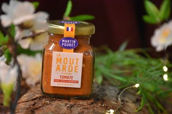 MOUTARDE ORLEANS TOMATE 95 G