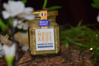 MOUTARDE ORLEANS PAVOT 95 G