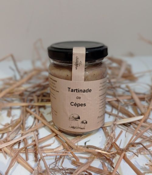 TARTINADE AUX CEPES 125G