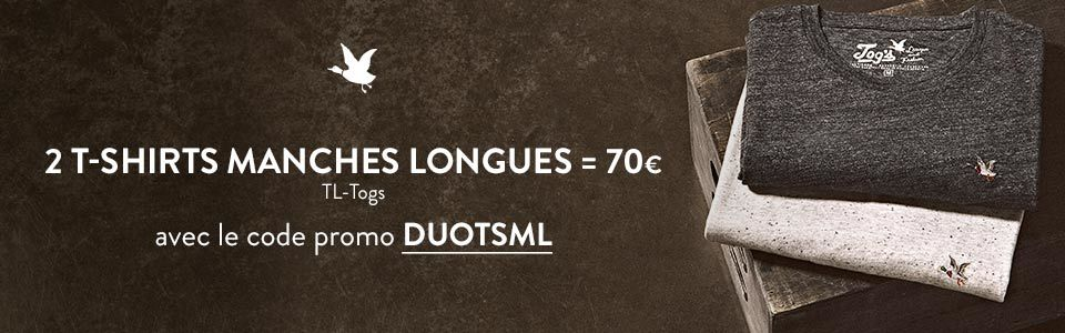 Offre  DUO T-shirts manches longues