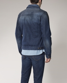 BLOUSON BLEU WASH 1 BREWA DENIM