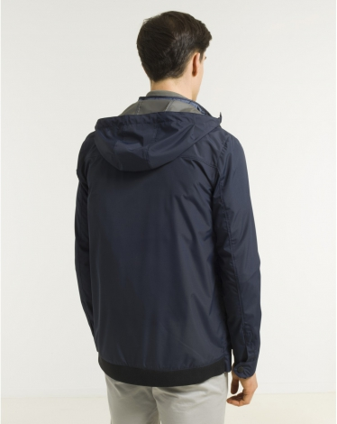 PARKA NAVY L-STRAIGHT