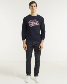 PULL NAVY SWEAT S-TOGS