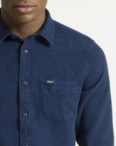 CHEMISE NAVY CL HONEYCOMB