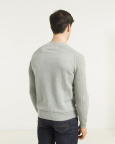 PULL GRIS CHINE CLAIR SWEAT S-TOGS