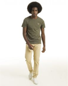 TEE-SHIRT VERT FORET CHINE T-TOGS