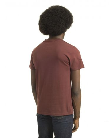TEE-SHIRT ROUGE BURGUNDY BREAK