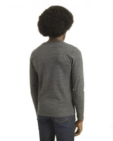 TEE-SHIRT GRIS ANTHRACITE CHINE TL-TOGS